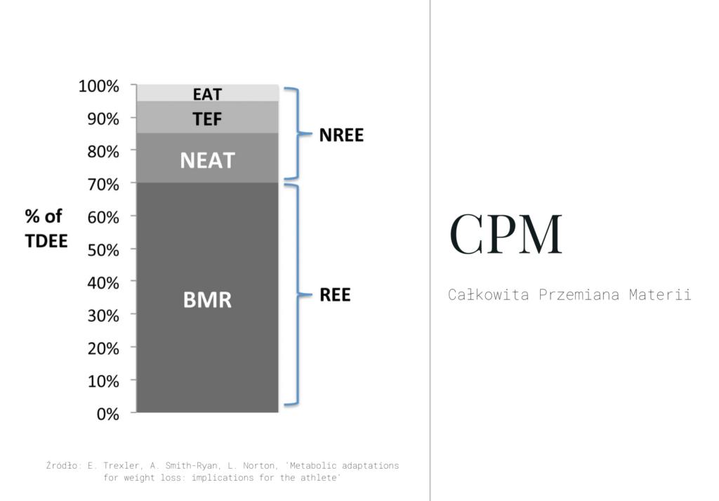 całkowita przemiana materii, jak obliczyć CPM