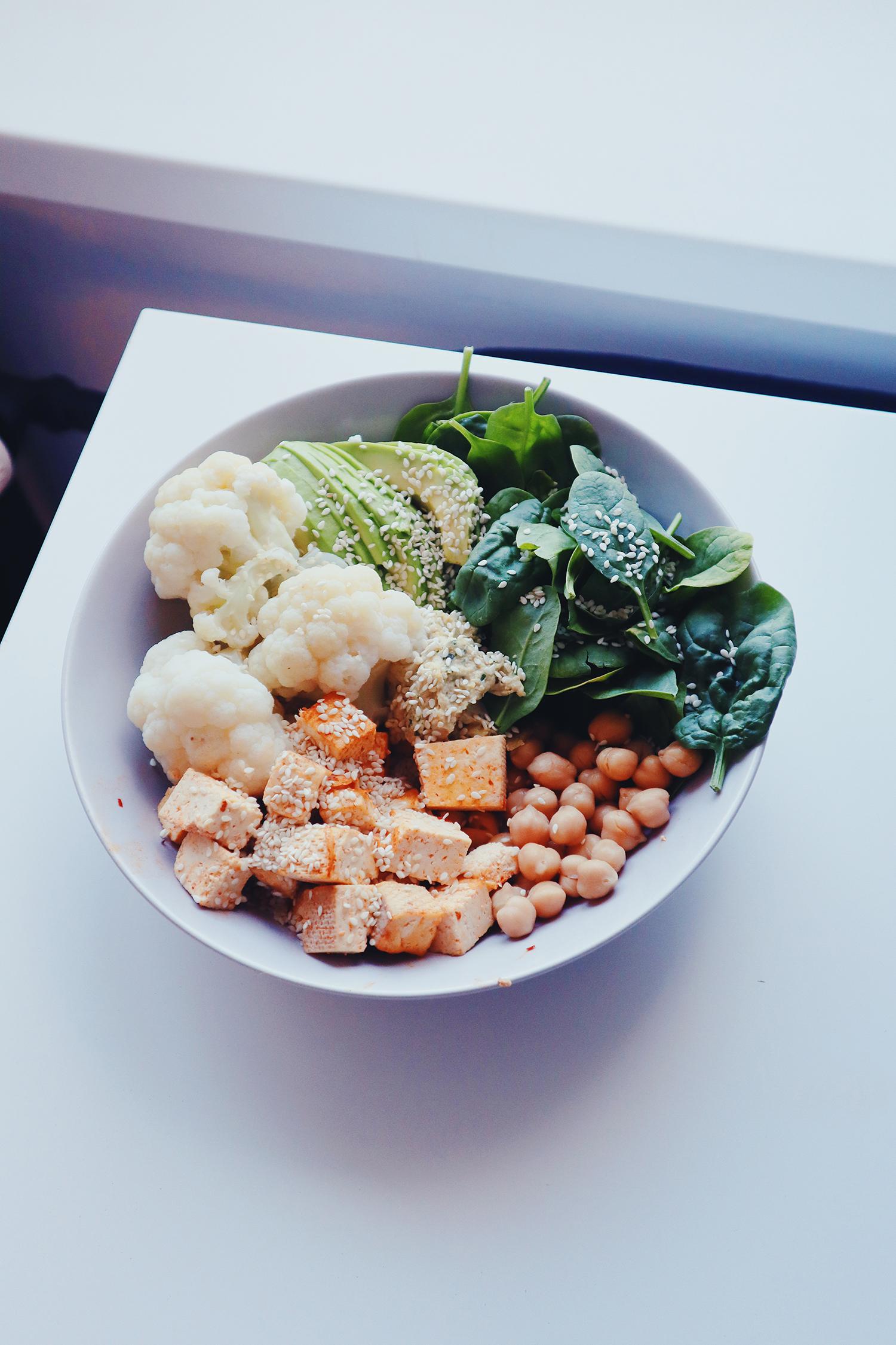Wegański lunch bowl