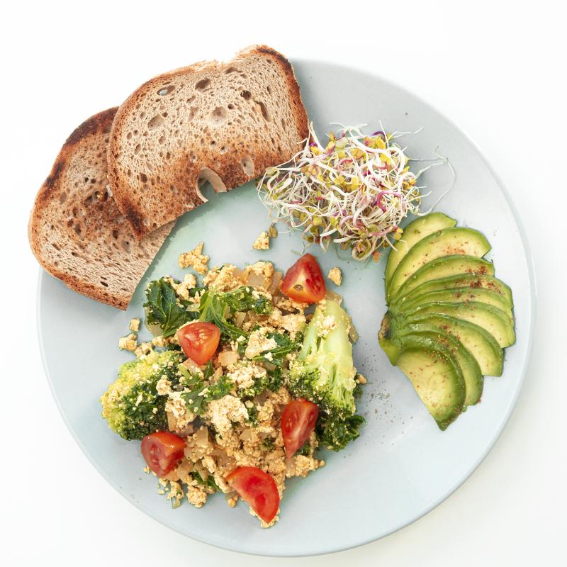 Fit Śniadanie wegańskie - tofucznica